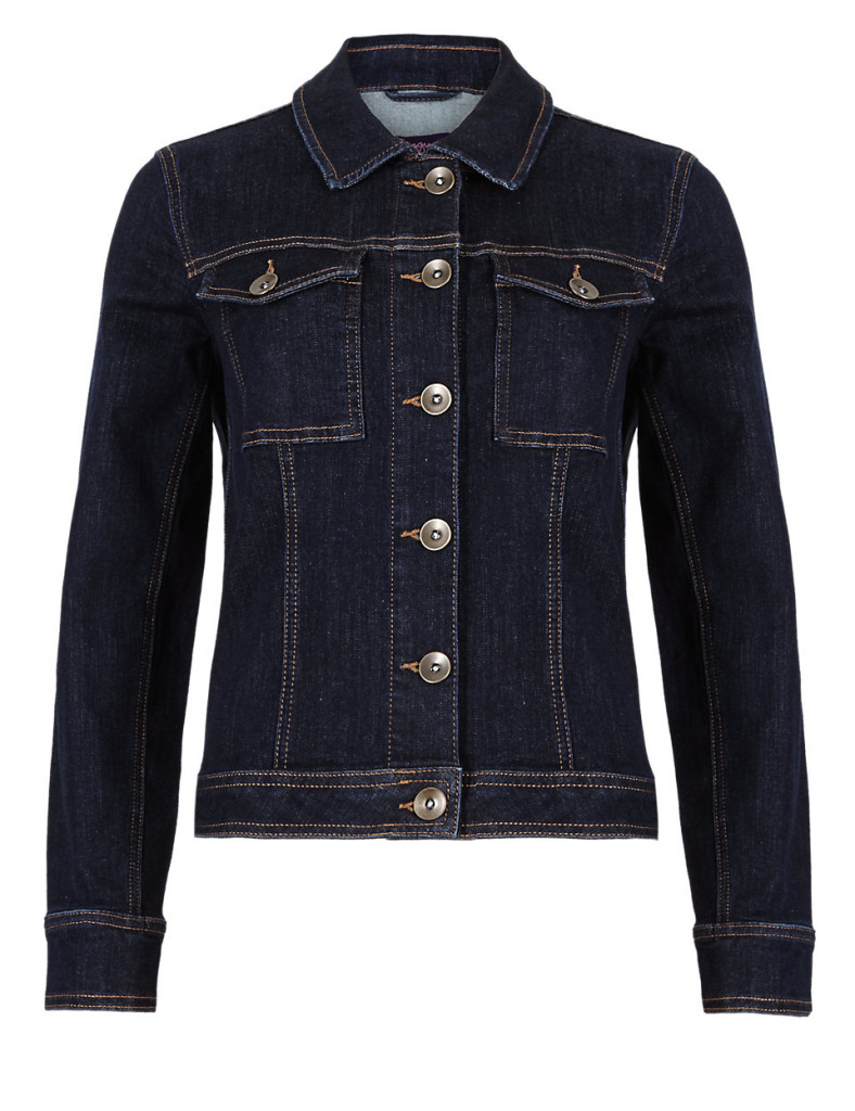 """""""Denim is a huge trend this season and it's so easy to wear. I love this jacket, it's perfect for weekends and looks great slipped on over a bright tee or one of my summer dresses"""""""